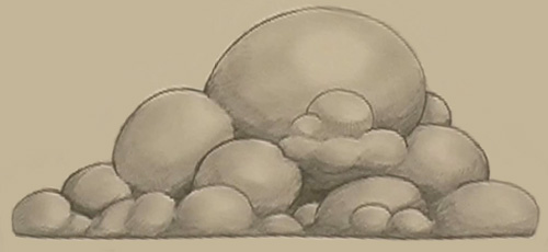 cloud drawing step 2